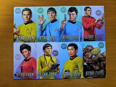 Dave & Busters Coin Pusher Star Trek TOS Complete set w/ rare Tribbles!