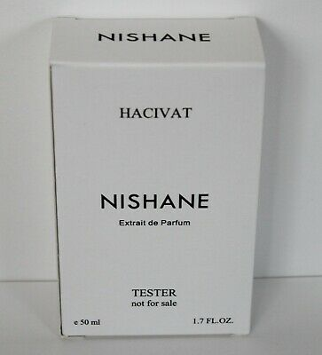 Nishane Hacivat 50 ml / 1.7 FL.oz. Extrait de Parfum UNISEX TESTER New Unused
