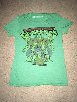 FRIGHT RAGS CHUD x TMNT Shirt Size Small Horror Friday The 13th Halloween