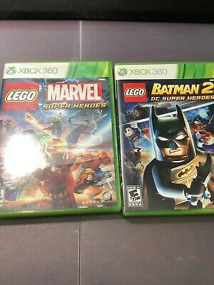 2 Xbox 360 Games For $15: Lego Marvel Superheroes, Lego Batman 2 DC Superheros