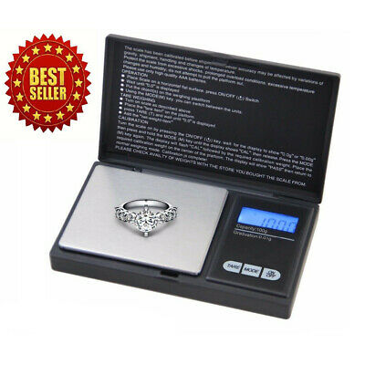 Digital Scale 1000g x 0.1g Jewelry Herb Silver Coin Gram Professional Mini Scale