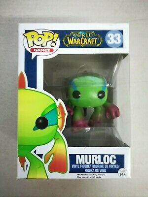 "Damaged Box - Pop Movies: WOW - Murloc 3.75"" Funko Vinyl VAULTED"