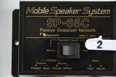 Nakamichi Mobile Speaker System SP-65C (passive crossover network)