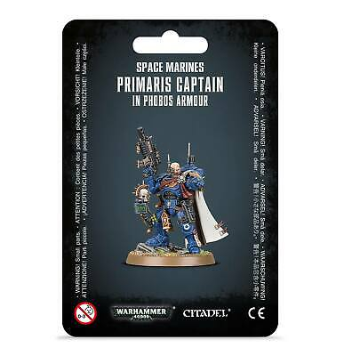 Warhammer 40.000 Space Marines Primaris Captain in Phobos Armour 48-68