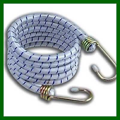 """12 Pack 72"""" Long Bungee Cords Set W Galvanized Steel Hooks Heavy Duty Variety Of"""