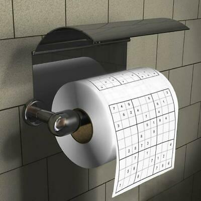 Sudoku Toilet Paper | loo roll puzzle game novelty funny