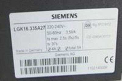 1PC New In Box SIEMENS LGK16.335A27 Burner Control
