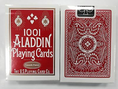 1 deck 1001 ALADDIN Playing Cards by uspcc Red Sealed new smooth finish S1050815