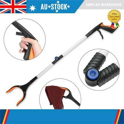 81cm Foldable Garbage Pick Up Tool Grabber Reacher Stick Reaching  Claw  Grab