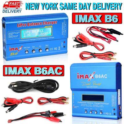 IMax B6 B6AC Digital LCD Lipo NiMh Battery balance Charger USA Fast Ship