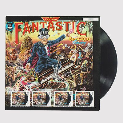 2019 Music Giants - Elton John Captain Fantastic Fan Sheet