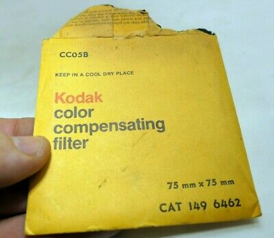 "KODAK Wratten Gelatin Lens Filter 3X3"" square CC05B light blue"