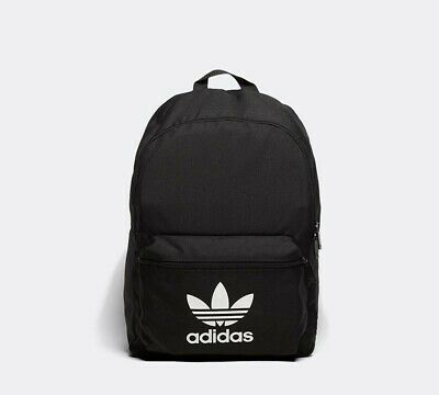 Mens Adidas Classic Black Backpack RRP £24.99
