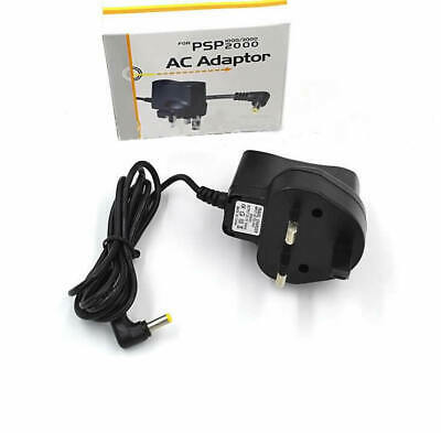 UK Plug Mains Power Supply Charging Adapter Battery Charger for PSP 1000/2000