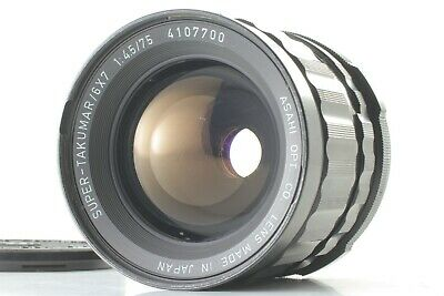 【Exc+++】Pentax SMC Super Multi Coated TAKUMAR 6×7 75mm f/4.5 MF Lens From Japan