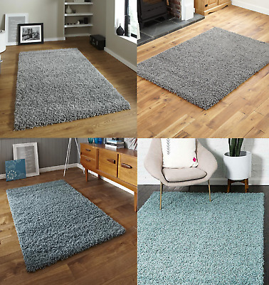 Modern & Thick Shaggy Rugs Soft Touch Home Living Room Office Area Rug 55mm Pile