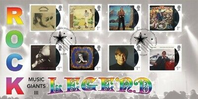 Elton John, Music Giants, Bradbury First Day Cover BFDC Stamps