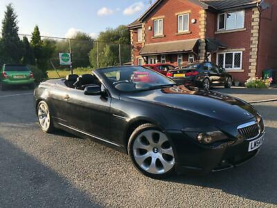 2004 Bmw 645I Convertible Automatic 98K Miles 12 Months Mot 4 Owners From New