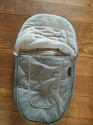 ICANDY peach jogger main seat  footmuff cosytoes avocado zip on