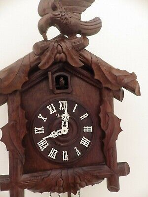 large french vedette cuckoo clock