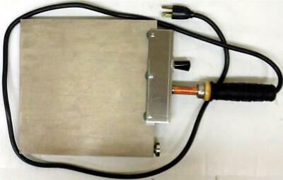 "Hot Plate 9 1/8"" x 9 1/16"", 120 volt, 0-700 degrees"