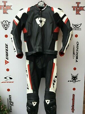 Rev'it 2 piece race leathers with hump uk 38 euro 48