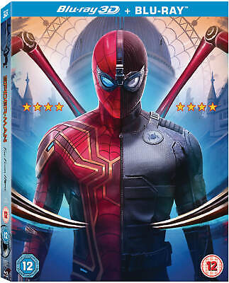 MARVEL SPIDER-MAN FAR FROM HOME 3D / 2D Blu-ray, US Seller PRE ORDER