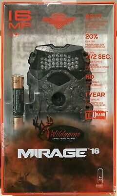 Wildgame Innovations Mirage 16 MP Game Camera w/ Batteries
