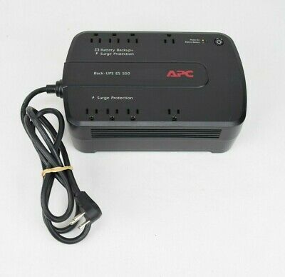APC Back-UPS ES 550 Uninterruptible Power Supply Backup Battery Surge Protection