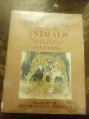 """Doomsday Book of Animals"", by David Day / HC / DJ /MANY COLOR ILLUSTRATIONS"