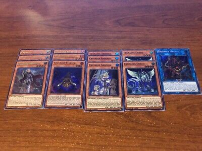 12 Card Crusadia Deck Core Maximus Reclusia Arboria Draco MP19-EN081 MP19-EN077