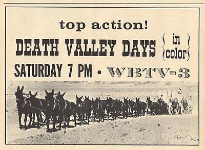 1967 WSOC TV ad ~ BILL CURRIE & SPORTS on WSOC in Charlotte