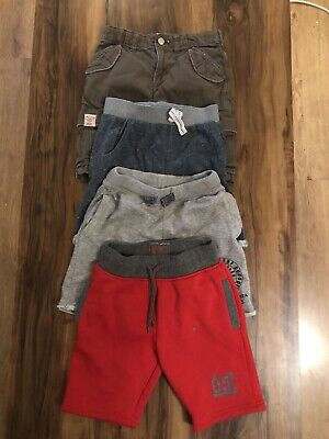 4 Pairs Of Boys Shorts Age 5-6