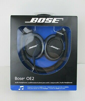 Bose OE2 Headphones Black New in Box Discontinued Old Stock Highly Sought After