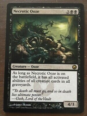 English Scars of Mirrodin MTG Magic 4x Necropede NM-Mint
