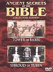 Ancient Secrets of the Bible #5 - Tower of Babel/Shroud of Turin (DVD, 2000)