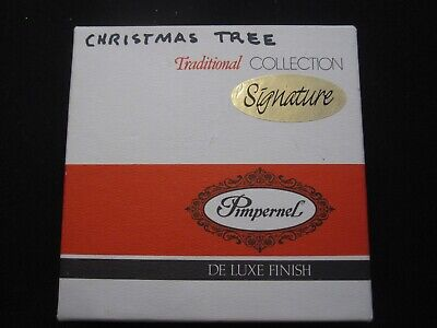 Pimpernel SPODE Christmas Tree Traditional Coasters Set of 6 England
