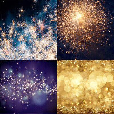AU Dreamlike Glitter Backgrounds Flashing Photography Background Studio Backdrop