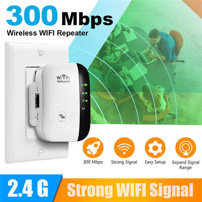 WiFi Range Extender Super Booster 300Mbps Superboost Boost Speed Wireless US