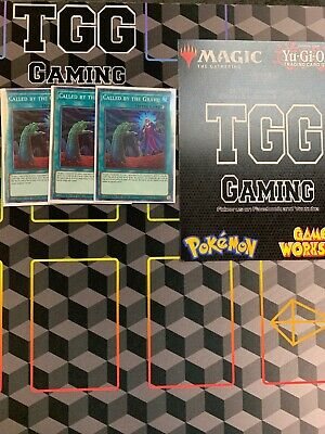Yugioh Called By The Grave EXFO-ENSE2 Super Rare PLAYSET