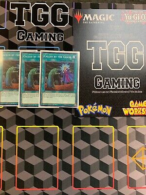 Yugioh Called By The Grave FLOD-EN065 Common PLAYSET