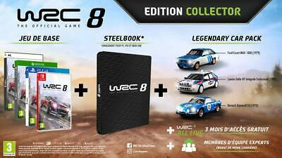 WRC 8 - édition Collector PS4