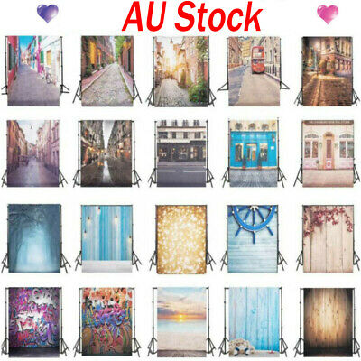 Road Scenery Photography Background Vinyl Photo Backdrop Scenery Studio Backdrop