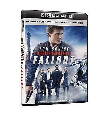 |062132| Mission Impossible - Fallout (Blu-Ray 4K Ultra HD+Blu-Ray) - Mission Im