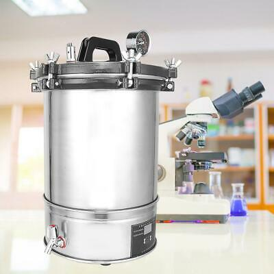 280CB Automatic 18L Stainless Steel Portable Autoclave Medical Sterilizer