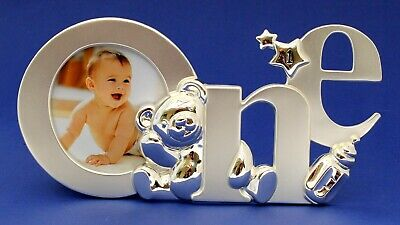 1st First Birthday Photo Frame One Year Old Present Gift Baby Keepsake