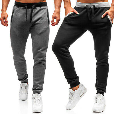 Trainingshose Hose Sporthose Jogginghose Fitness Slim Fit Herren BOLF 6F6 Basic