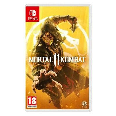 Mortal Kombat 11 Nintendo Switch nuovo