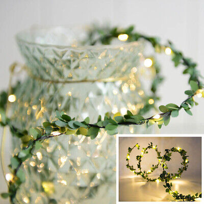 50/100/200 LED USB Micro Rice Wire Copper Fairy String Lights Party Xmas Decor