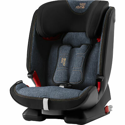 Britax Romer ADVANSAFIX IV M Group 1/2/3 Child Car Seat – 9-36kg/9M-12Y